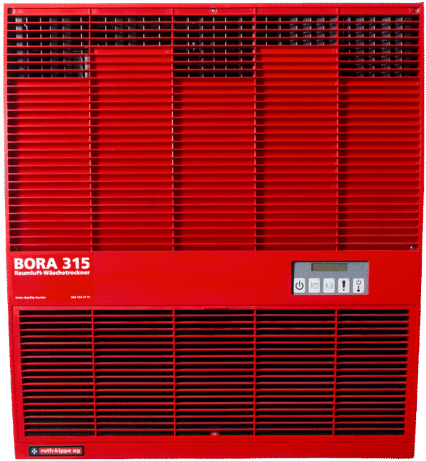 Raumluft Waeschetrockner Bora 315 rot