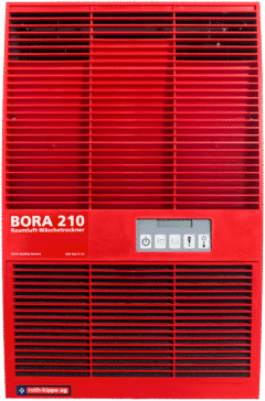 Raumluft Waeschetrockner Bora 210 rot